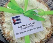 Key West, Havana flight makes history.