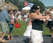 Saint-Sauver's Cuban Party