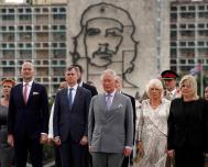 Prince Charles and the Duchess of Cornualles Arrive in Cuba