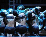 Bestowing in Cuba Prize Villanueva to the dance play Carmina Burana