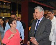 President of Cuba Tours Food Fair 2.0