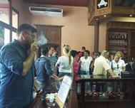 A new cigar store is inaugurated in an important Cuban region
