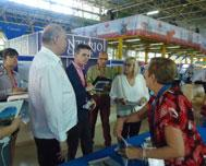 Minister Malmierca Visits Taina Group Stand in FIHAV 2018