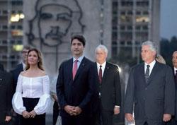 Prime Minister JUSTIN TRUDEAU visits havana