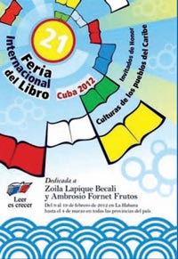Cuba's 21st International  Book Fair 2012