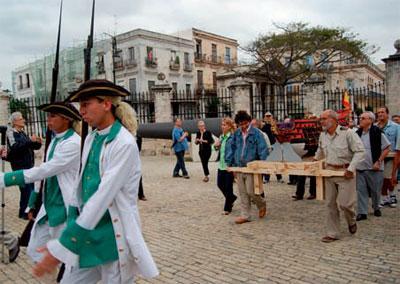 The Santisima Trinidad Returns to Havana