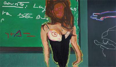 Antoine Mena: la pintura en acto puro y libre