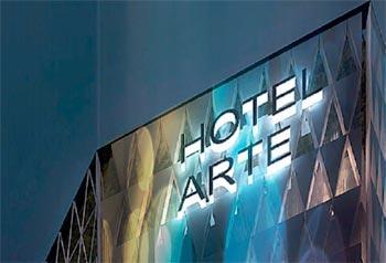 El arte convertido en hotel