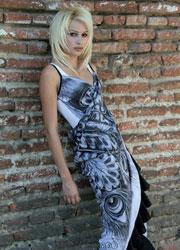Fashion Wearing Cuban Art
