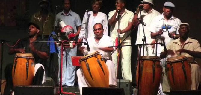 Emblematic Cuban rumbero group up to its 65 onomastic