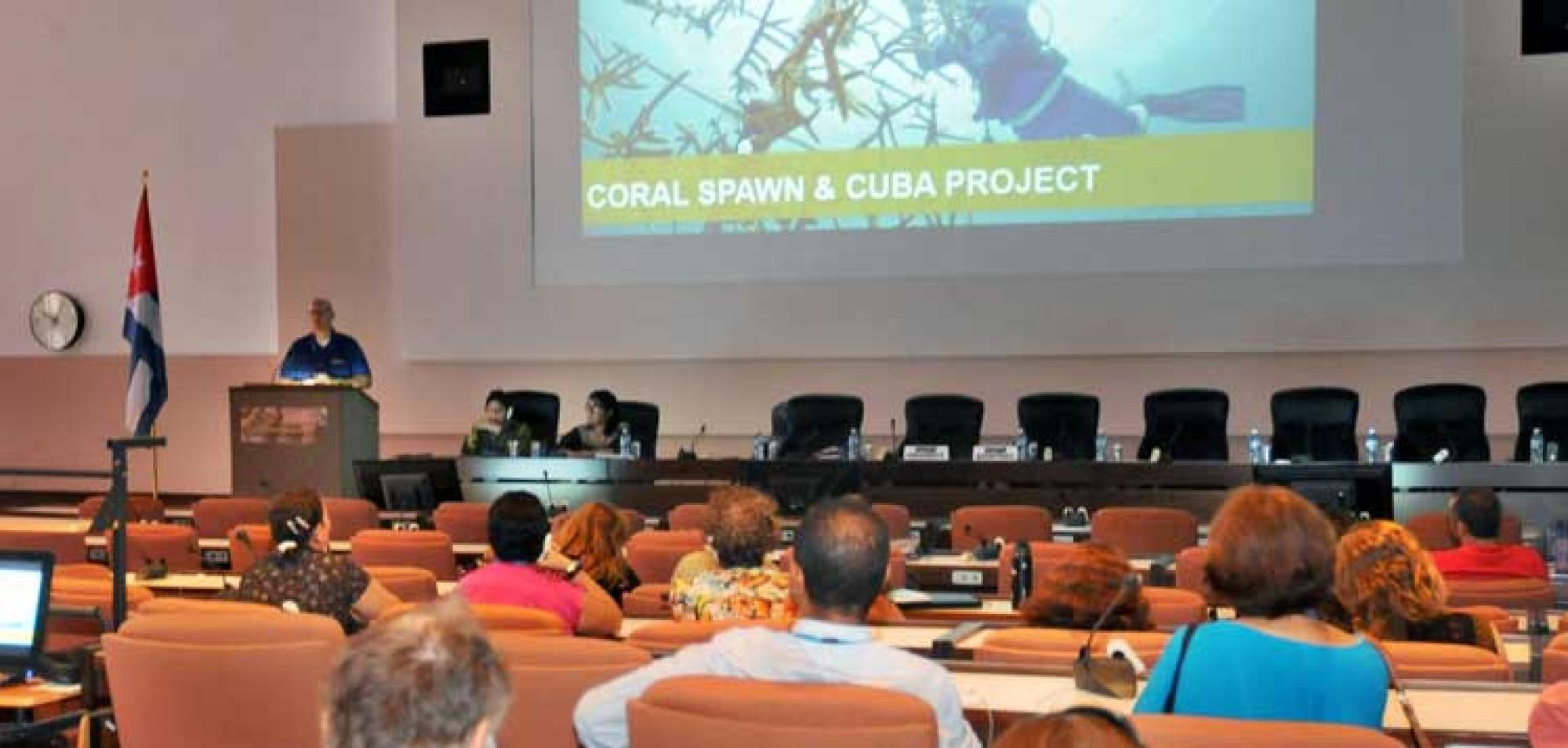 Ocean Research Challenges under Debate at MarCuba 2018