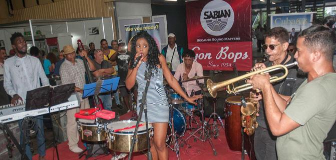 Fiart to the rhythm of Cuban music
