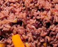 Congrí or moros, (rice and beans), another delight of Cuban fusion cooking