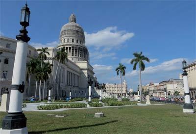 Capitol of Havana, undisputed tourist attraction