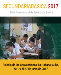SecundariaBasica 2017, I Taller Internacional de Secundaria Básica