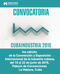 3rd edition of the International Convention and Exhibition Industry of Cuba, 2018
