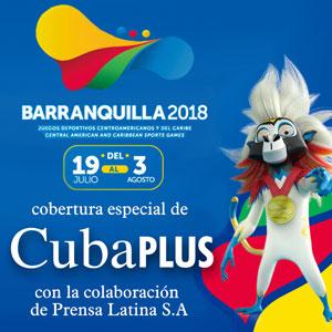 Cobertura por CubaPLUS de los Juegos Centroamericanos y del Caribe Barranquilla 2018